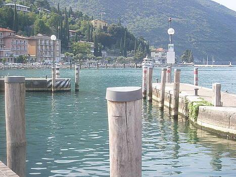 Torbole sul Garda Lake Garda Italy by Inga Menn