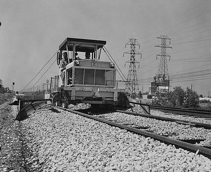 Chicago and North Western Historical Society - Track Machines at Work - 1957