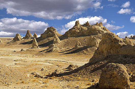 Trona Pinnacles Peaks by Marius Sipa