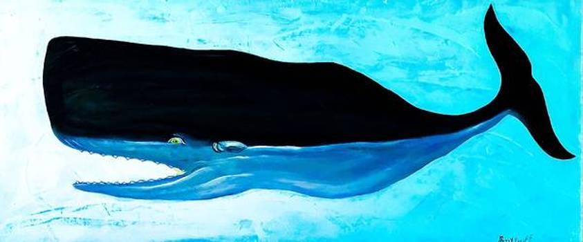 Trouble Sperm Whale  by Barry Knauff