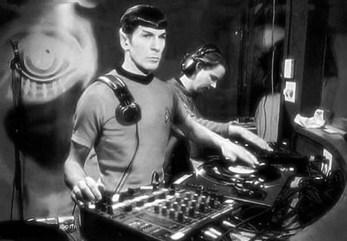2 Turntables and a Vulcan by Paul Van Scott