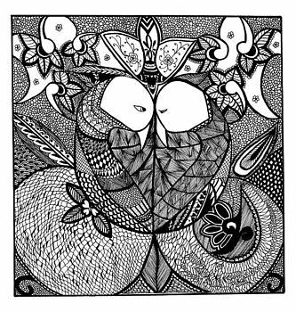 2 Turtle Doves by Lenora Brown