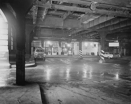 Chicago and North Western Historical Society - Underneath the Chicago Passenger Terminal Commuter Concourse - 1961