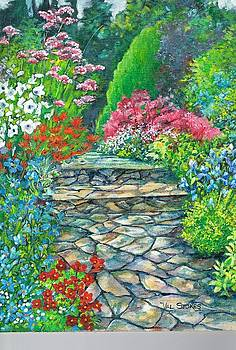 Up the garden path by Val Stokes