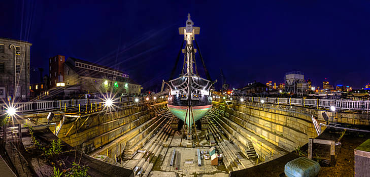 USS Constitution by James Wellman