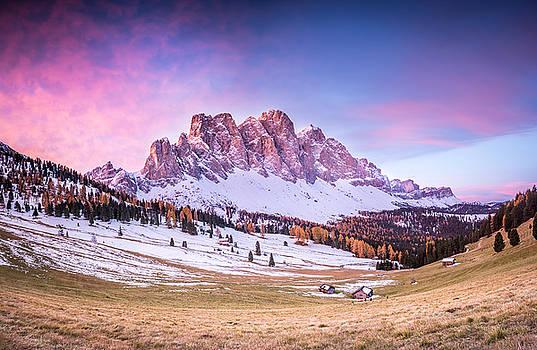 Val di Funes, Italy by Stefano Termanini