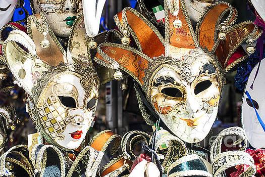 Venetian carnival masks by Deyan Georgiev