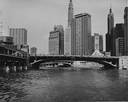 Chicago and North Western Historical Society - View of Chicago Skyline From Boat