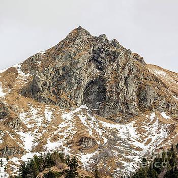 View of Massif Central Puy de Sancy. Auvergne. France by Bernard Jaubert
