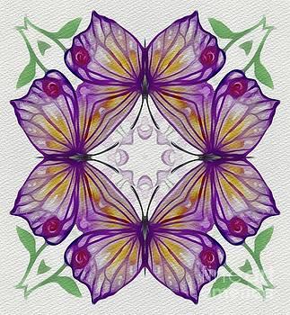 Sarah Kirk - Vintage Floral Pattern