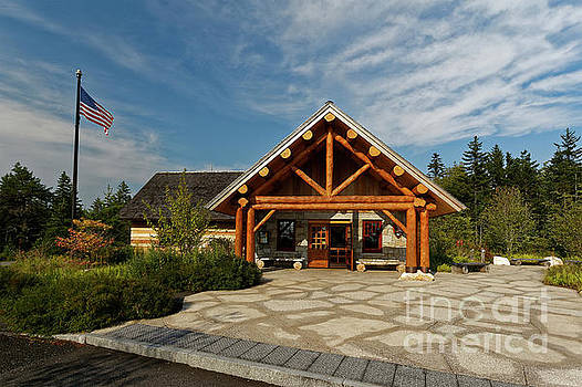 Visitors Center, Schoodic Woods campground, Maine, USA by Kevin Shields