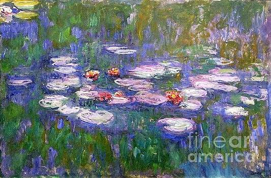 Monet - Waterlilies 1919