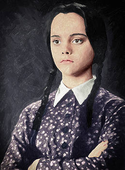 Wednesday Addams by Taylan Apukovska