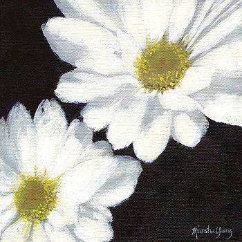 White Daisies by Marsha Young