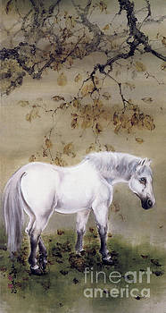 White Horse by Gao Qifeng