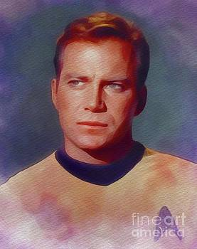 John Springfield - William Shatner as Captain Kirk