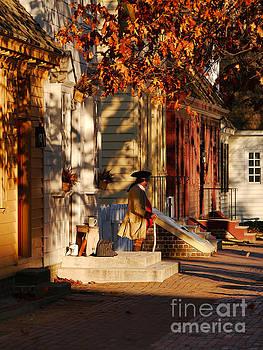 Williamsburg Fall  by Rachel Morrison