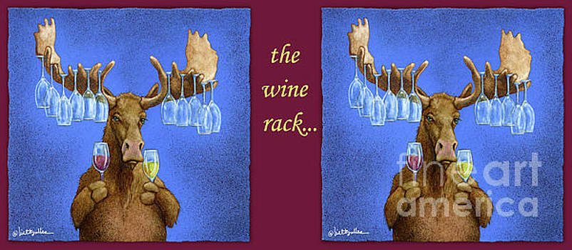 Will Bullas - wine rack...