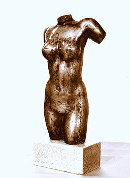 Woman torso by Emin Guliyev