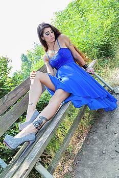 Wonderful Model by Fabio Belloni