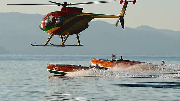 Steven Lapkin - Wooden Boats on Lake Tahoe