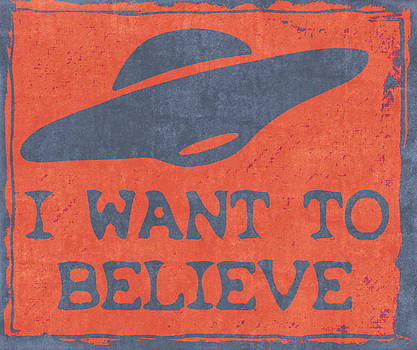 X Files I Want To Believe by Kyle West
