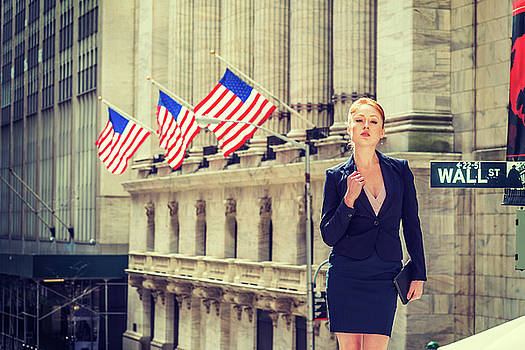 Alexander Image - Young businesswoman working in New York