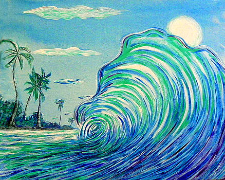 Surf art by W Gilroy