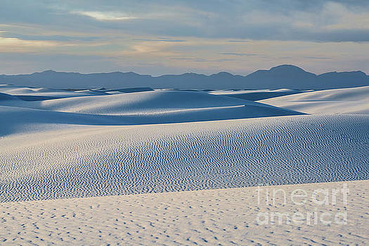 The unique and beautiful White Sands National Monument in New Mexico. by Jamie Pham