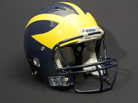 2000s Wolverine Helmet by Michigan Helmet