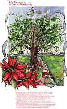 2001 Christmas Under The Oaks by Mary Silvia