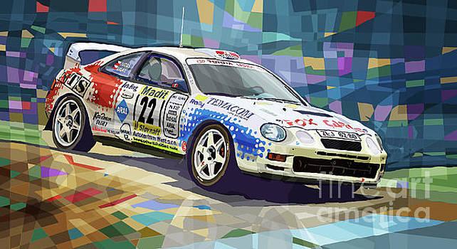 2002 Slovnaft Valasska Rally Toyota Celica GT Four Liska Jugas  by Yuriy Shevchuk