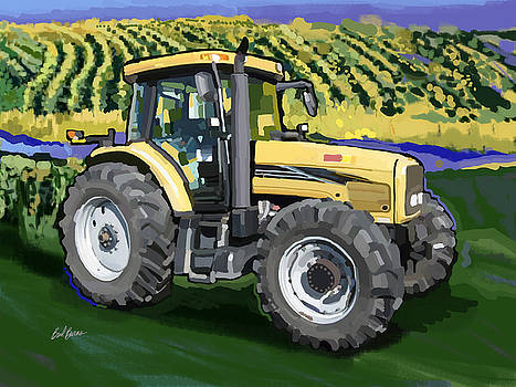2004 Challenger MT525B Farm Tractor by Brad Burns