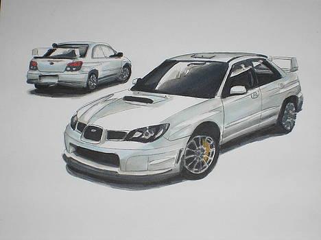 2005 Subaru WRX by Maria Mills