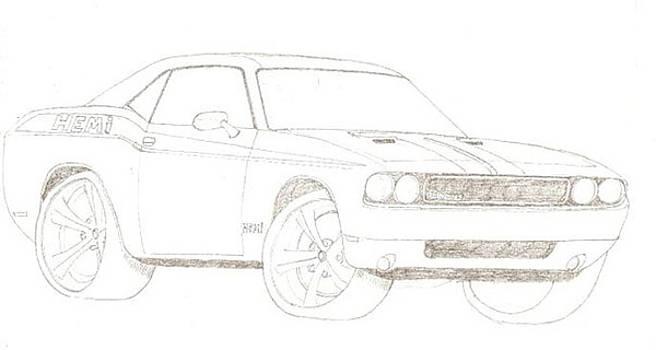 2009 Dodge Challenger by David Fields