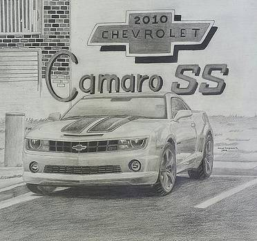2010 Chevrolet Camaro SS  by Henry Hargrove