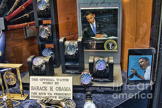 Chuck Kuhn - 2011 Rare photo Obama Watch