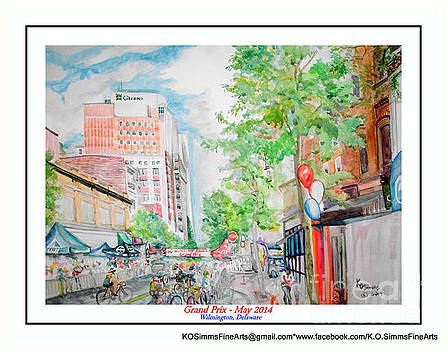 2014 Gran Prix Cyclist Race by Keith OBrien Simms
