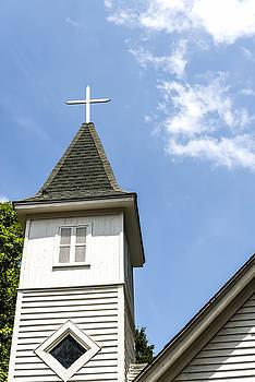 201406030-023 Cross on Bell Tower 2x3 by Alan Tonnesen