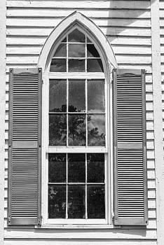 201406030-025K Arched Window No 25 BW 2x3 by Alan Tonnesen