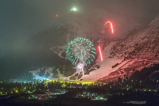 Tim Grams - 2015 Fireworks at Alyeska