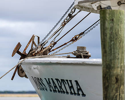 201503140-029X Bow Anchor and Rigging 4x5 by Alan Tonnesen