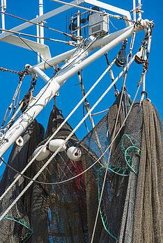 201503140-047 Fishing Nets and Boom 2x3 by Alan Tonnesen
