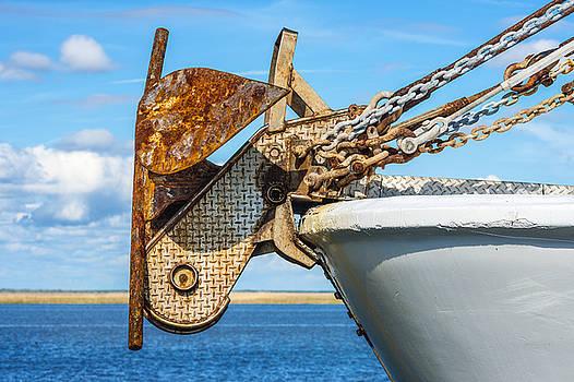 201503140-096 Fishing Boat Anchor 2x3 by Alan Tonnesen