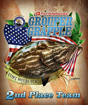 2016 Grouper Grapple 2nd Place by Dennis Friel