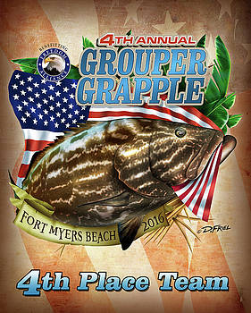 2016 Grouper Grapple 4th Place by Dennis Friel