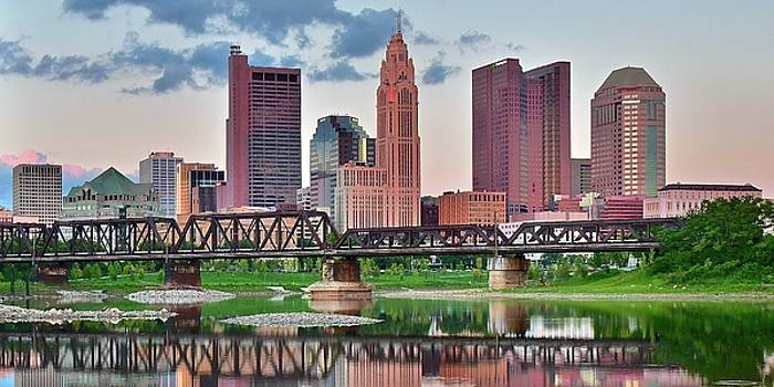 2017 Columbus Panoramic by Frozen in Time Fine Art Photography