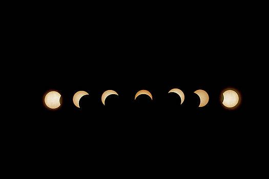 2017 Partial Solar Eclipse by Dennis Clark