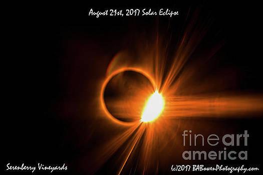 Barbara Bowen - 2017 Solar Eclipse - Diamond Ring