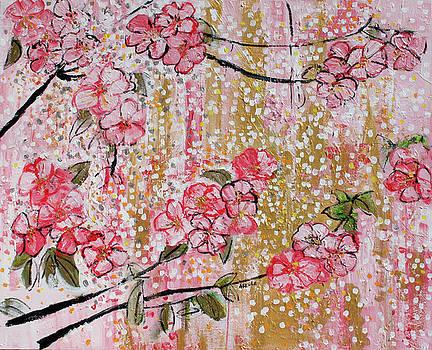 201713 Cherry Blossoms 15 by Alyse Radenovic